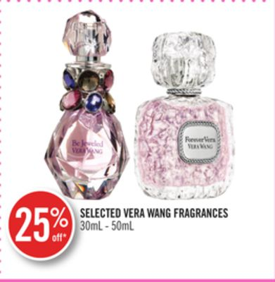 Selected Vera Wang Fragrances