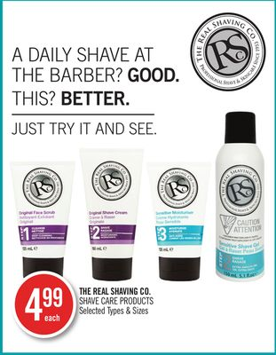 The Real Shaving Co. Shave Care Products