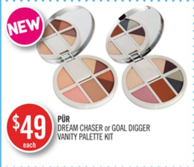 Pür Dream Chaser or Goal Digger Vanity Palette Kit