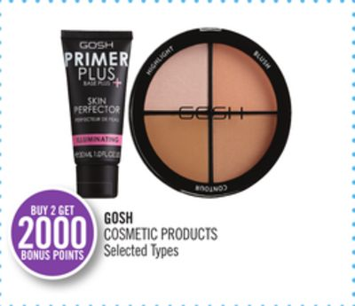 Gosh Cosmetic Products