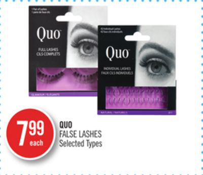 Quo False Lashes