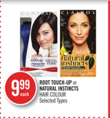 Root Touch-up or Natural Instincts Hair Colour