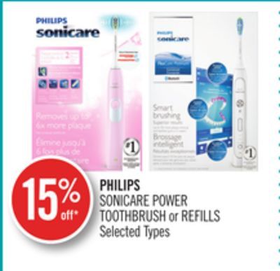 Philips Sonicare Power Toothbrush or Refills