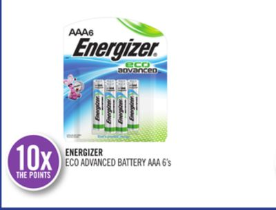 Energizer Eco Advanced Battery Aaa