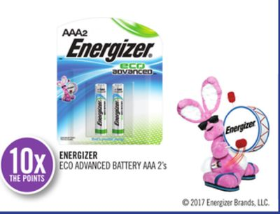 Energizer Eco Advanced Battery Aaa 2's