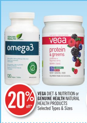 Vega Diet & Nutrition or Genuine Health Natural Health Products