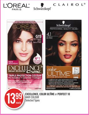 Color Ultîme or Perfect 10 Hair Colour
