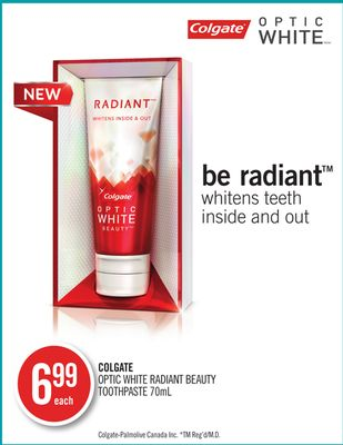 Colgate Optic White Radiant Beauty Toothpaste