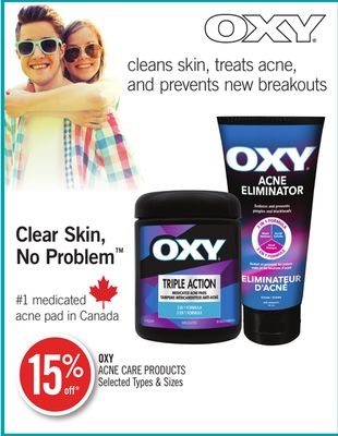 Oxy Acne Care Products