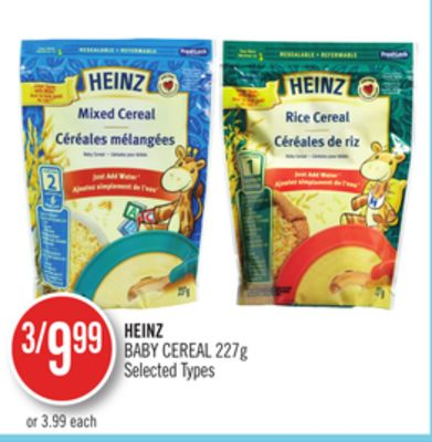 Heinz Baby Cereal On Sale Salewhale Ca