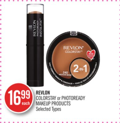Revlon Colorstay or Photoready Makeup Products