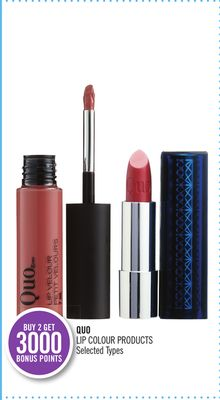 Quo Lip Colour Products