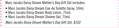 Marc Jacobs Daisy Dream Mother's Day Gift Set