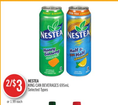 Nestea King Can Beverages