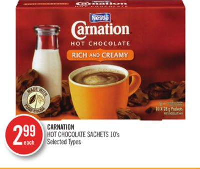 Carnation Hot Chocolate Sachets