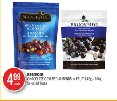 Brookside Chocolate Covered Almonds or Fruit