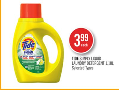 Tide Simply Liquid Laundry Detergent