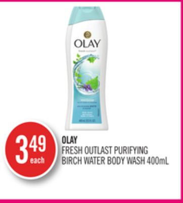 Olay Fresh Outlast Purifying Birch Water Body Wash