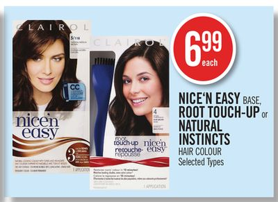 Nice'n Easy Base - Root Touch-up or Natural Instincts Hair Colour