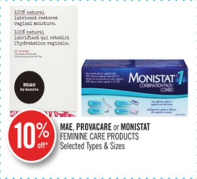 Mae - Provacare or Monistat Feminine Care Products