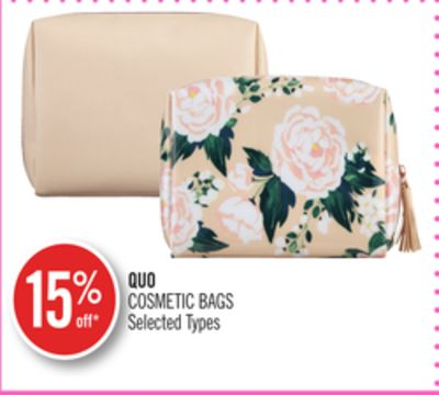 Quo Cosmetic Bags