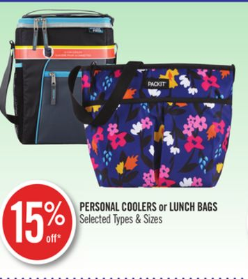 Personal Coolers or Lunch Bags