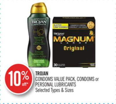 Trojan Condoms Value Pack - Condoms or Personal Lubricants