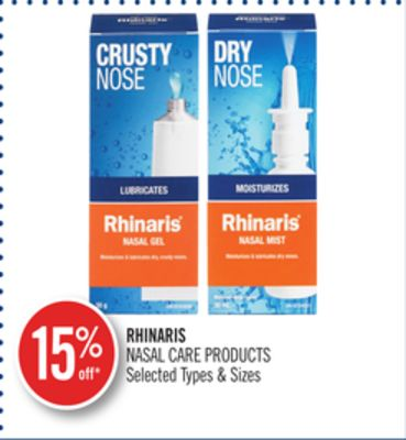 Rhinaris Nasal Care Products
