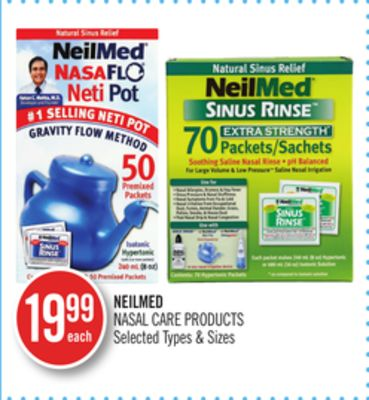Neilmed Nasal Care Products
