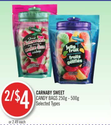 Carnaby Sweet Candy Bags