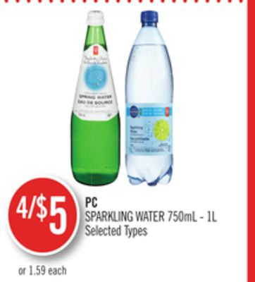 PC Sparkling Water
