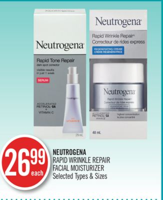 Neutrogena Rapid Wrinkle Repair Facial Moisturizer