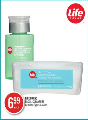 Life Brand Facial Cleansers