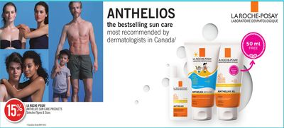 La Roche-posay Anthelios Sun Care Products