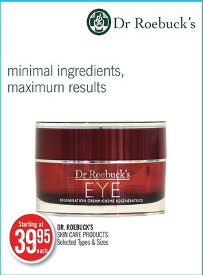 Dr. Roebuck's Skin Care Products