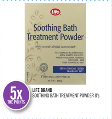 Life Brand Soothing Bath Treatment Powder