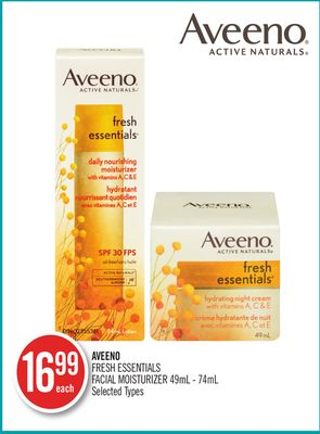 Aveeno Fresh Essentials Facial Moisturizer