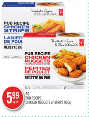 PC Pub Recipe Chicken Nuggets or Strips