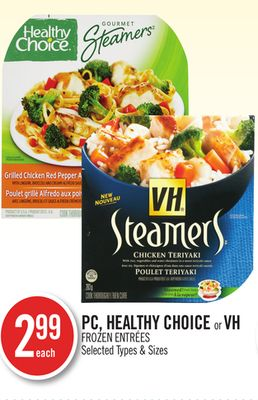 PC - Healthy Choice or VH Frozen Entrées