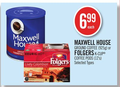 Maxwell house k cup coffee coupon