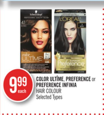 Color Ultîme - Preference or Preference Infinia Hair Colour