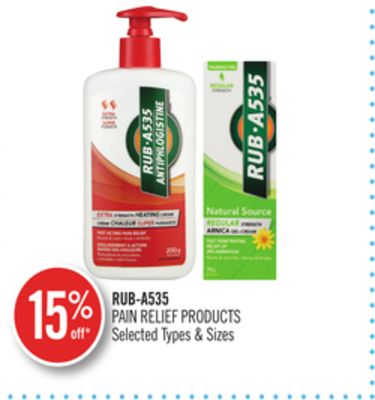 Rub-a535 Pain Relief Products