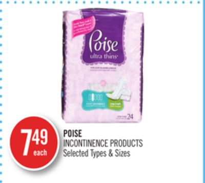 Poise Incontinence Products