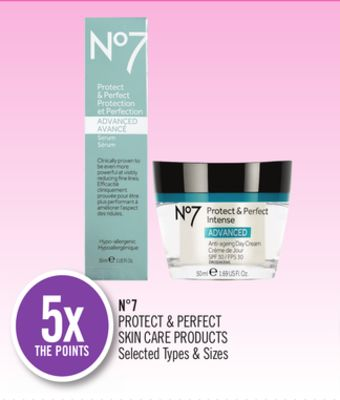 N°7 Protect & Perfect Skin Care Products