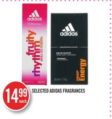Selected Adidas Fragrances