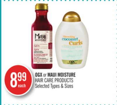 Ogx or Maui Moisture Hair Care Products
