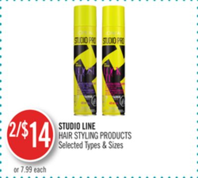 Studio Line Hair Styling Products