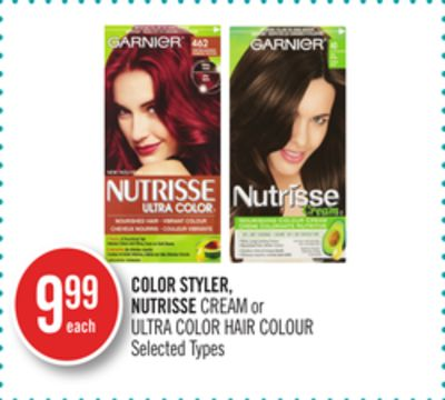 Color Styler - Nutrisse Cream or Ultra Color Hair Colour