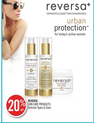 Reversa Sun Care Products