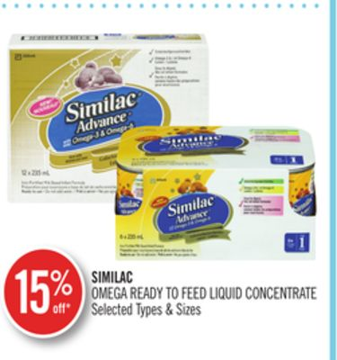 Similac Omega Ready To Feed Liquid Concentrate
